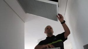 Fastening Your Filter - Air Conditioning Services